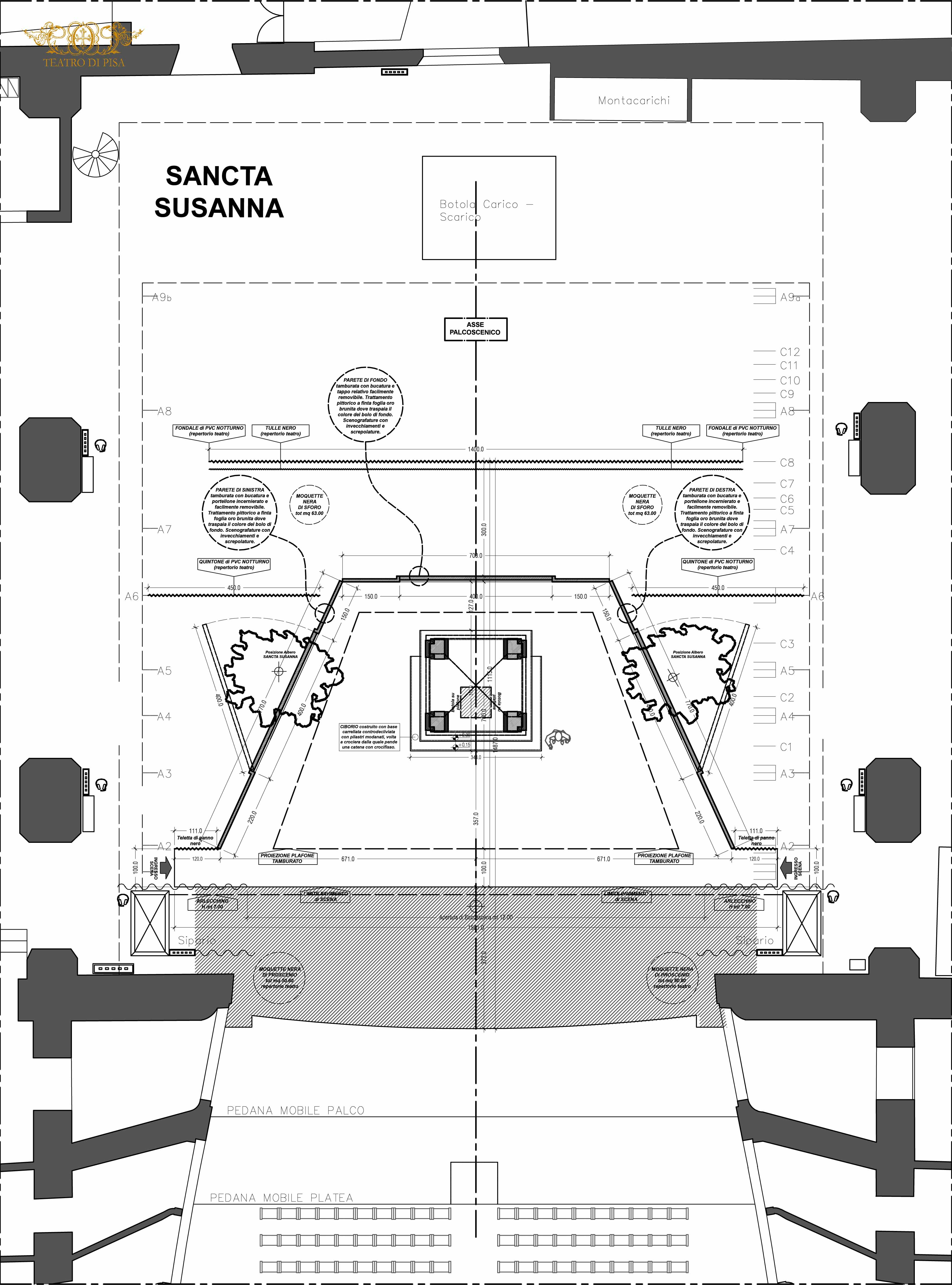 ground plan Sancta Susanna
